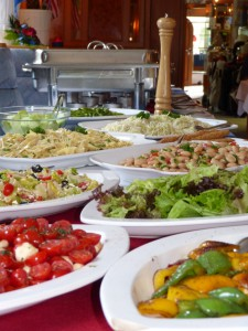 Vegetarisches Buffet